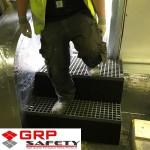 grp grating for steps 150x150 GRP Moulded Grating