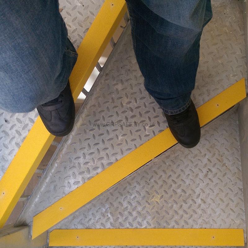 Grp Anti Slip Stair Nosings Installed At Nursery In London