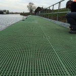grp grating minimesh walkway pontoon