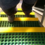 GRP Grating with Stair Nosing