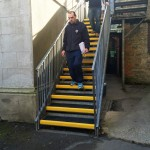 grp stair tread cover application