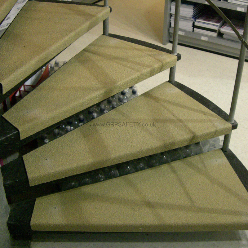 Grp Stair Tread Cover Application9 150x150 Industrial Stair Tread Covers