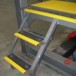 stair tread cover application