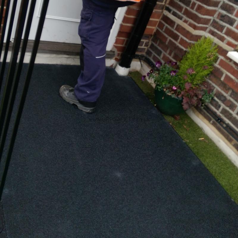 Anti Slip Floor Safety Grooving : Anti slip floor sheets grp non flooring