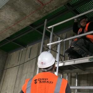 bouygues uk cambridge riser decking 1 300x300 GRP Service Riser Grating & Supports