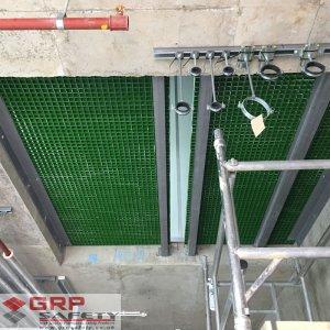 grp risergrid flooring kier scotland 300x300 GRP Service Riser Grating & Supports