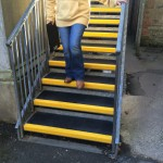 thornton college grp anti slip stair tread case study gallery