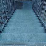 thornton college grp anti slip stair tread staircase before