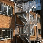 fire escape staircase example