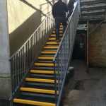fire escape staircase solution example
