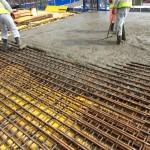 grp riser decking sdc builders granta park riser pouring