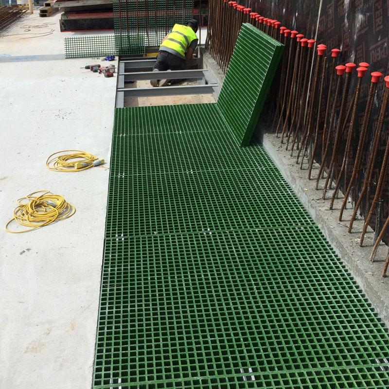 Service Riser Flooring At Granta Park Cambridge Grp Safety