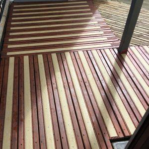 grp anti slip decking strips application2 300x300 GRP Decking Strips installed in Ely, Cambridge