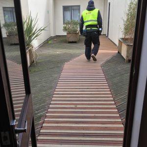 grp anti slip decking strips application3 300x300 GRP Decking Strips installed in Ely, Cambridge